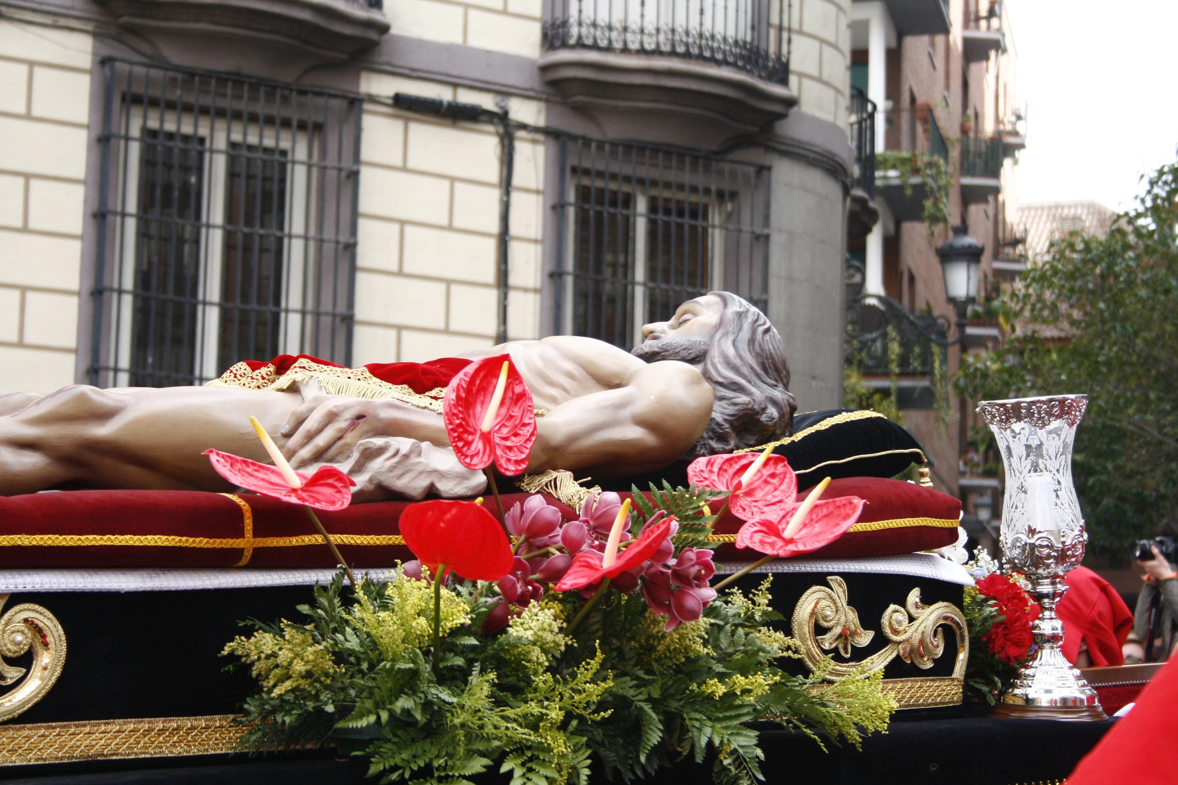 Resultado de imagen de CRISTO YACENTE DEL SANTO ENTIERRO DE MOSTOLES